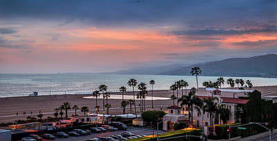 Photograph - Jonathan Beach Club Sunset by Gene Parks