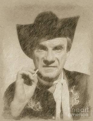 Jonathan Harris, Actor Art Print