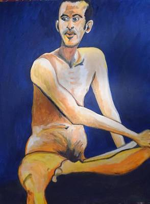 Painting - Jonathan Whom David Loved by Esther Newman-Cohen