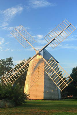 Photograph - Jonathan Young Windmill Cape Cod Morning Light by John Burk