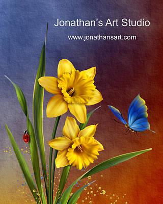 Jonathan's Art Studio Merchandise Original by John Junek