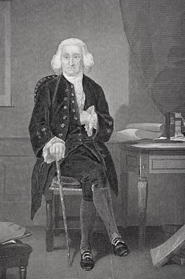 Jonathon Trumbull 1710-1785. Chief Art Print