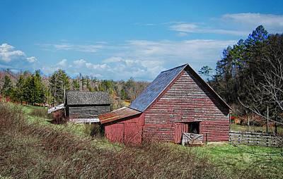 Photograph - Jones Creek Road Barn by Joe Duket