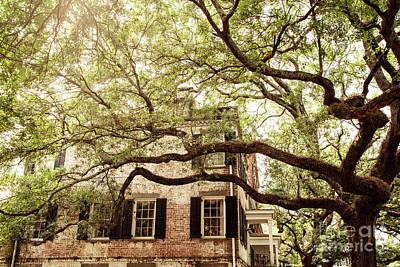 Photograph - Jones Street Brick House by Heather Green