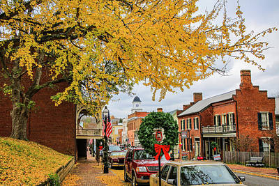 Photograph - Jonesborough Christmas by Bluemoonistic Images