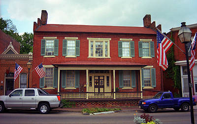 Photograph - Jonesborough, Tennessee - Main Street 2 by Frank Romeo