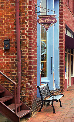 Jonesborough Tennessee Main Street Art Print by Frank Romeo