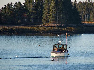 Photograph - Jonespot, Maine  by Trace Kittrell