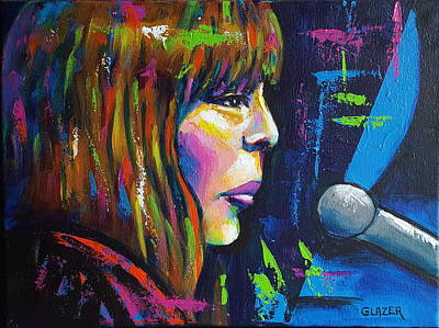 Joni Mitchell Original by Stuart Glazer