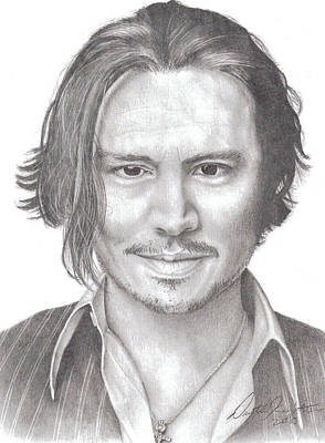Drawing - Jonny by Dustin Knighton