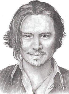 Drawing - Jonny by Dustin Knighton