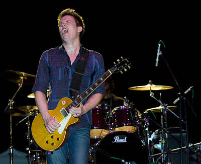 Photograph - Jonny Lang Plays The Blues On His 1958 Les Paul Gibson by Ginger Wakem