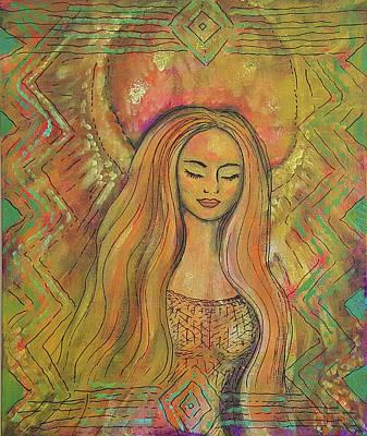 Painting - Jophiel by Pia Tohveri