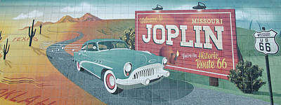 Photograph - Joplin Route 66 by Susan McMenamin