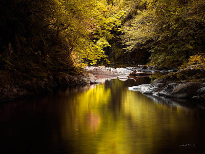Jordan Creek Art Print by Leland D Howard