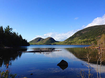 Photograph - Jordan Pond 2 by Mary Bedy