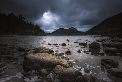 Acadia Photograph - Jordan Pond by Chris Fletcher