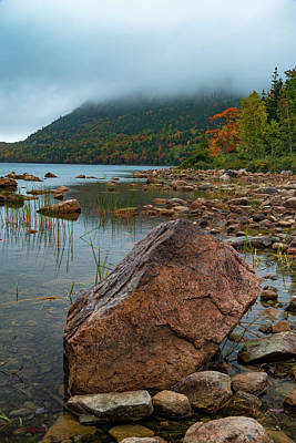 Photograph - Jordan Pond by Gary Lengyel