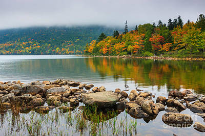 Jordan Photograph - Jordan Pond by Henk Meijer Photography
