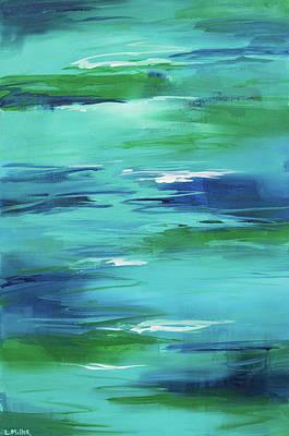Jordan River Original by Linda Miller