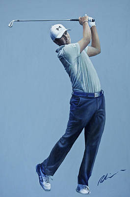 Painting - Jordan Spieth  by Mark Robinson