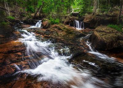 Acadia Photograph - Jordan Stream - Acadia National Park by Jeff Bazinet