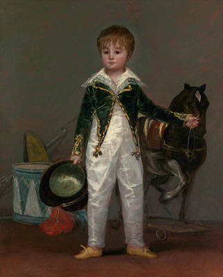 Painting - Jose Costa Y Bonells, Called Pepito by Francisco Goya