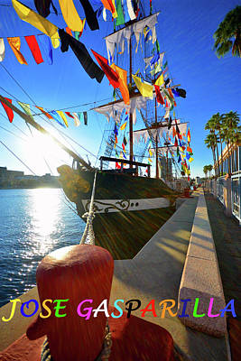 Photograph - Jose Gasparilla Limited Edition Poster by David Lee Thompson