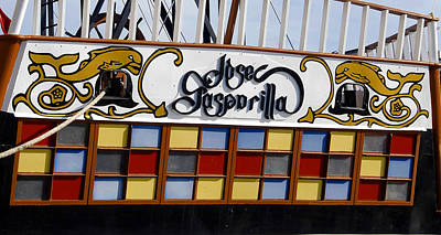 Photograph - Jose Gasparilla Ship  by David Lee Thompson