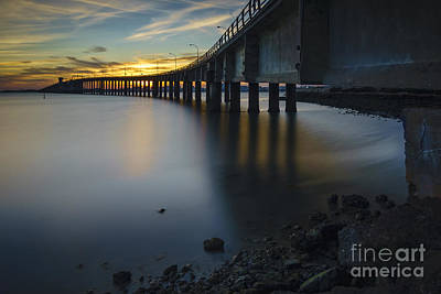 Photograph - Jose Leon De Carranza Bridge Cadiz Spain by Pablo Avanzini