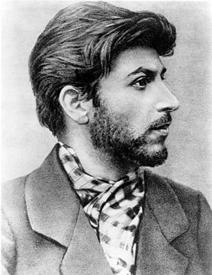 Stalin Photograph - Josef Stalin As A Young Revolutionary by Everett