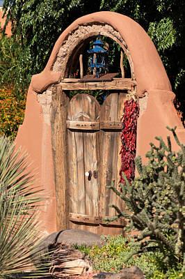 Photograph - Josefina's Gate by Susan Rissi Tregoning