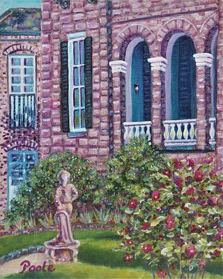 Painting - Joseph Aiken Mansion And Carriage House by Pamela Poole