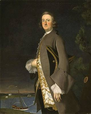 Guns Arms And Weapons - Joseph B. Blackburn - Portrait of Captain John Pigott by Joseph B Blackburn
