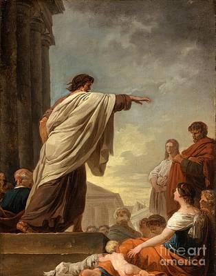 1743 Painting - Joseph Benoit by MotionAge Designs