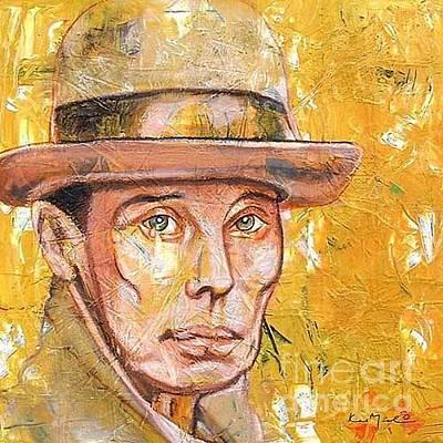 Joseph Beuys Painting - Joseph Beuys by Caprice Melo