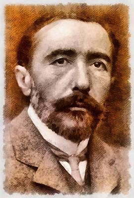 Joseph Conrad, Author Art Print by John Springfield