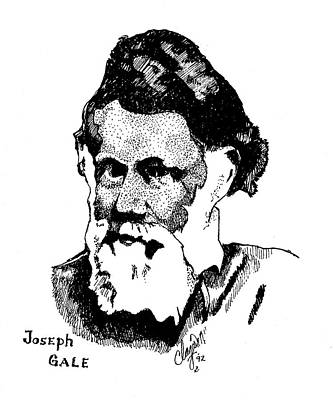 Drawing - Joseph Gale by Clayton Cannaday