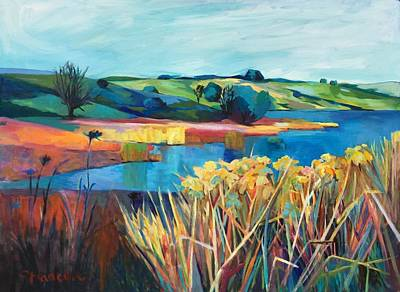 Painting - Joseph Grant Wetland by Stephanie  Maclean