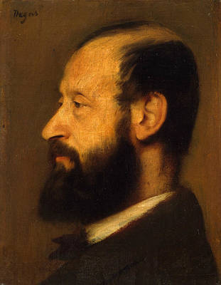 Painting - Joseph-henri Altes by Edgar Degas