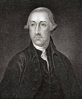 Joseph Hewes 1730 To 1779 American Art Print by Vintage Design Pics