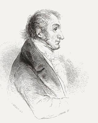 Jmw Drawing - Joseph Mallord William Turner, 1775 by Vintage Design Pics