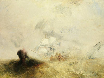 Painting - Whalers by Joseph Mallord William Turner