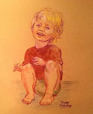 Giggling Painting - Joseph by Nikki Keep