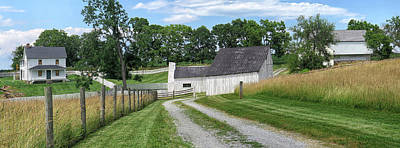 Photograph - Joseph Poffenberger Farm by Dave Mills