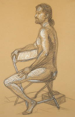 Drawing - Joseph - Seated by Donelli  DiMaria