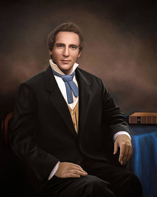 Lds Painting - Joseph Smith by Brent Borup