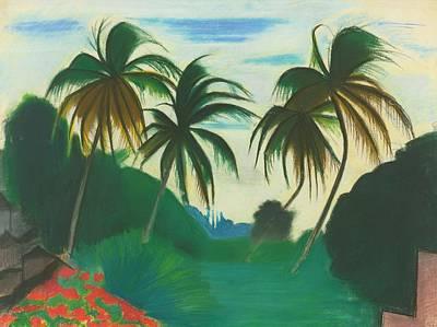 Ceramics Painting - Joseph Stella 1880 - 1946 Barbados by Artistic Rifki