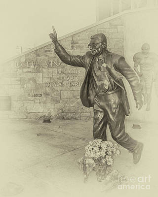 Joseph Vincent Paterno Sepia Art Print by Tom Gari Gallery-Three-Photography