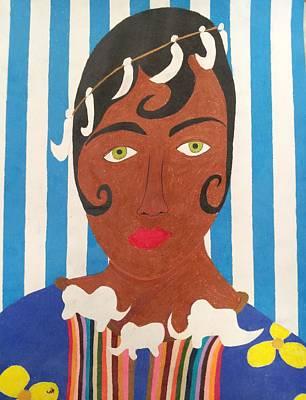 Mcdonalds Drawing - Josephine Baker 5 by William Douglas
